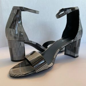Vaneli 2 inch Heels Gray and Black Size 9M